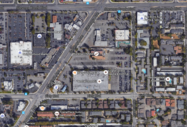 Site where Prometheus, Shorenstein plan mixed-use development in San Jose