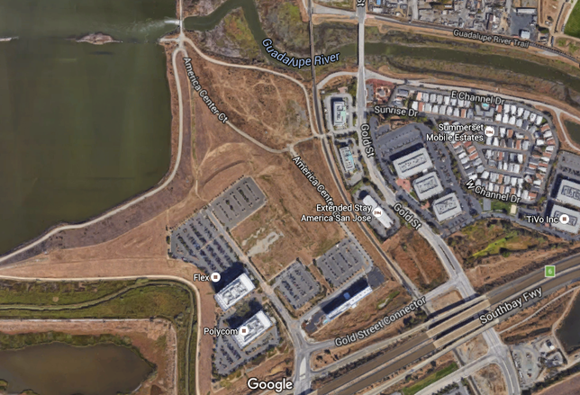 Site in Alviso area of North San Jose for proposed hotel