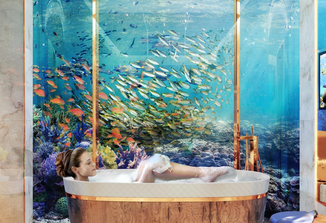 Check Out Dubai's Ultra-Luxurious Underwater Homes