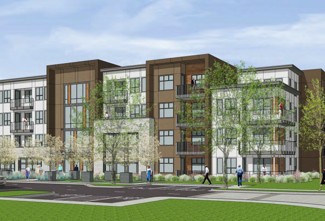 Parc 55 senior housing project in Fremont credit: City of Fremont