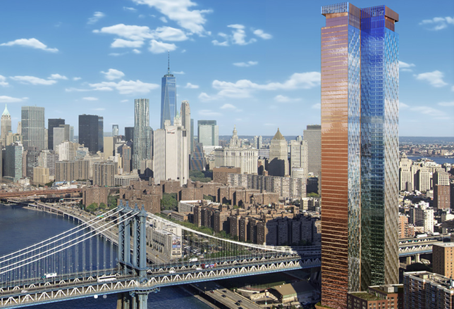 City Orders Work At One Manhattan Square Halted