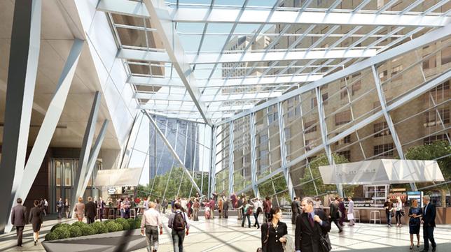 Boston Properties' 100 Federal St Glass Atrium Gets Important OK