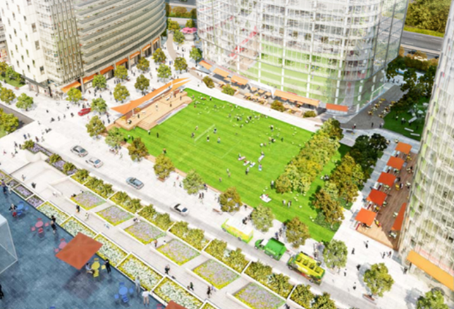 Arlington County Board Unanimously Approves Rosslyn Plaza Redevelopment