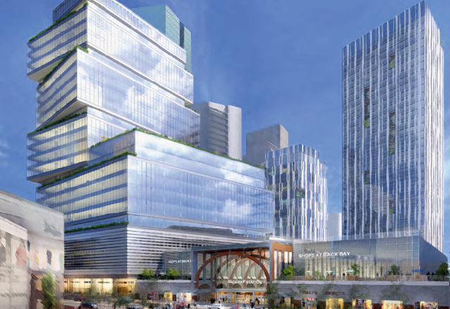 Boston Properties Is Planning A 1.2M SF Air Rights, Mixed-Use Development