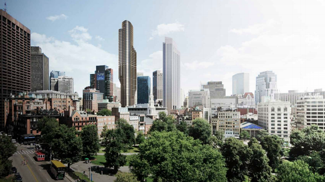 Downtown Crossing Tower Project To Be Restarted