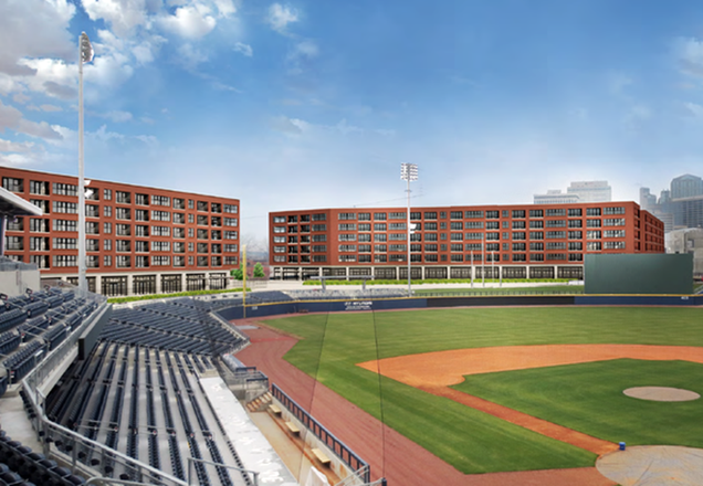 Plans Call For 400 Apartments At First Tennessee Park