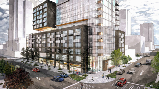 New Apartments On Site Of Ill-Fated McGuire In Belltown?