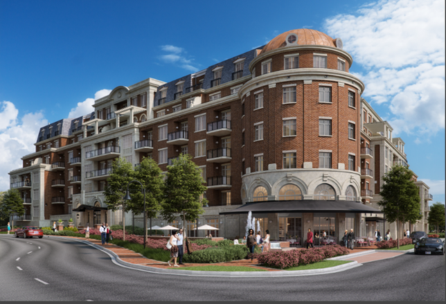Downtown McLean's First Big Development In Years Breaks Ground