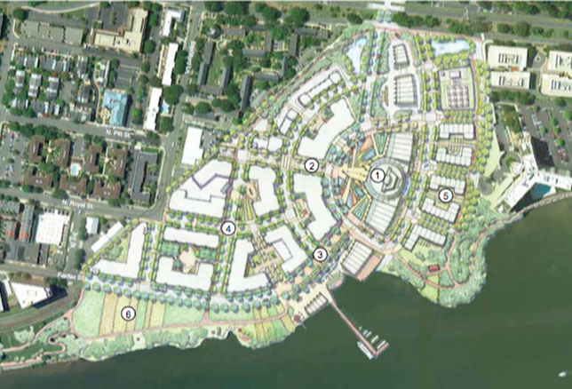 Alexandria Potomac River Green development concept Old town north generating station