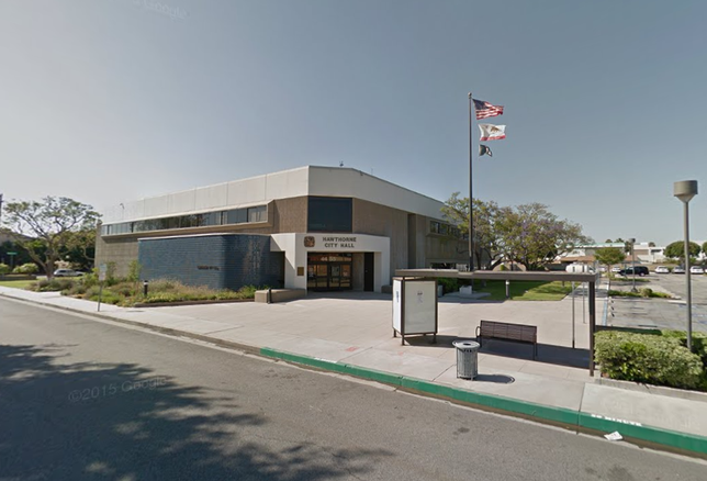 Hawthorne City Hall, CA