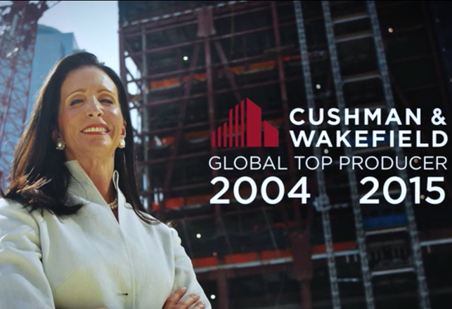 In A League Of Her Own: Cushman & Wakefield's Tara Stacom Is Company's Top Global Producer