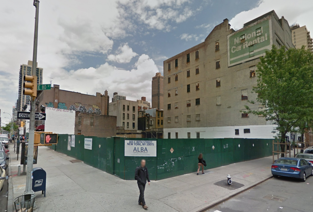 Demolished Tenements To Make Way For Icon Realty Management's 30-Story Tower