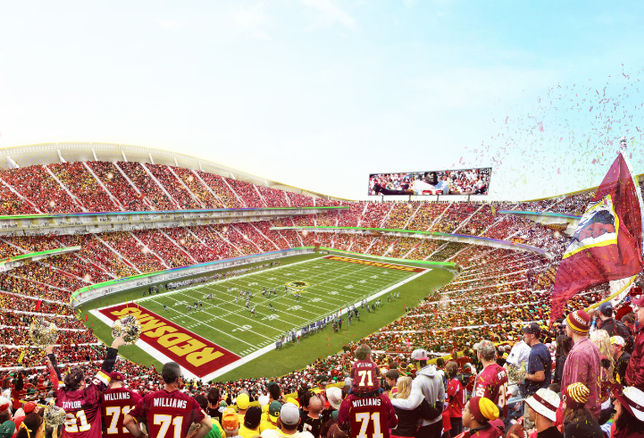 Bjarke Ingels Redskins Stadium