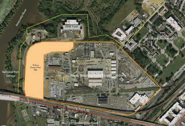 Benning Road Power Plant Site