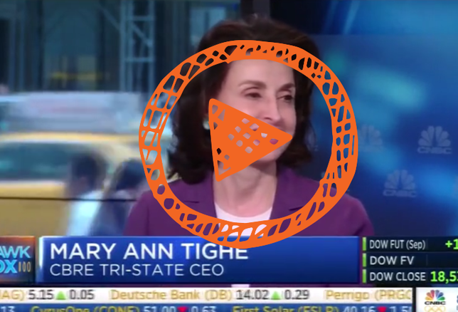 Video Of The Day: CBRE Tri-State CEO Mary Ann Tighe Talks Leasing, Supply and Donald Trump