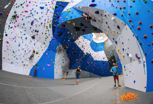 Earth Treks And Its 35k SF Climbing Wall Adds To Innovative Scene In Crystal City