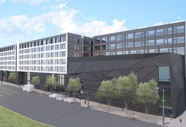 Fishtown Multifamily Project With Rock Climbing Gym Up For Sale