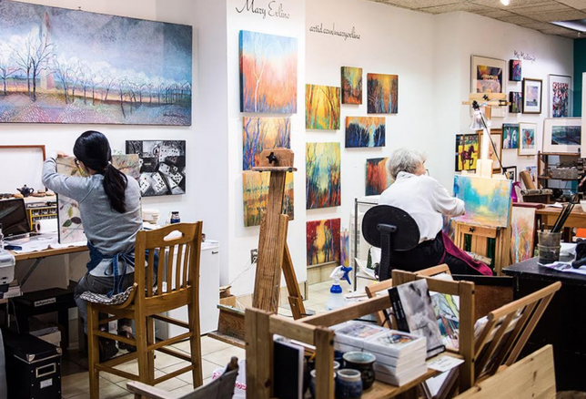 Inside Crystal City's Thriving Art Underground
