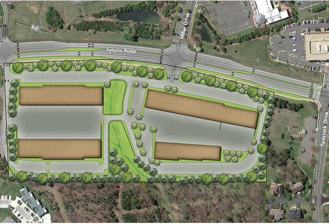 St. John Properties Leesburg site plan
