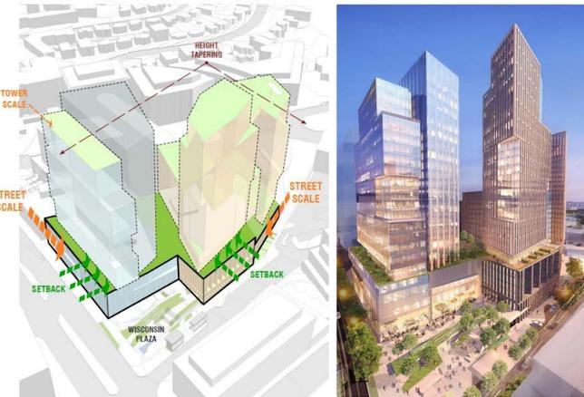 Carr Properties Apex Building rendering