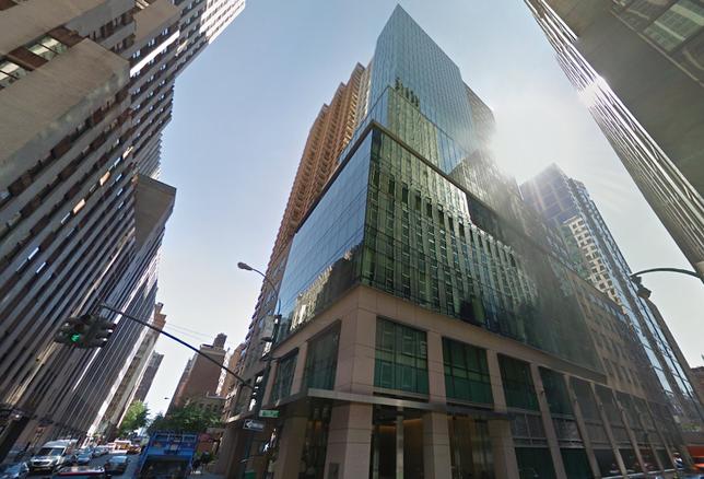 Pfizer HQ in Midtown Manhattan
