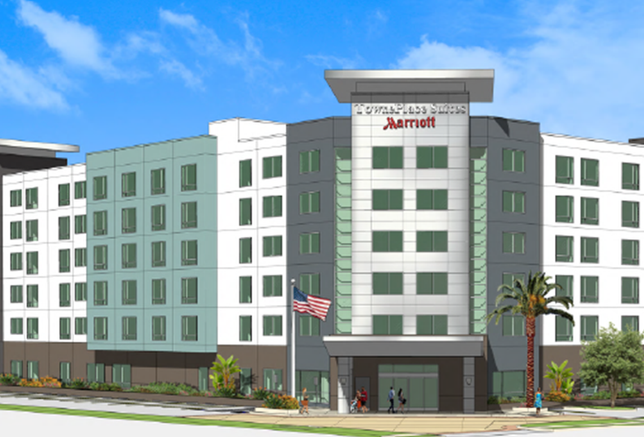 Proposed TownePlace Suites, Irvine, CA