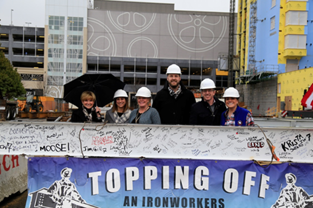 Alloy At Assembly Row Tops Off