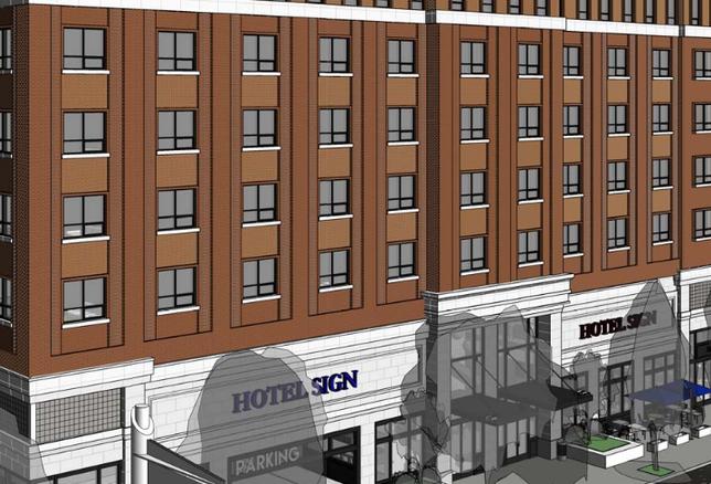 Rendering of Hotel Near USC