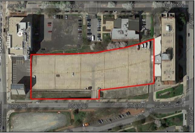 Mount Vernon Triangle Parking Deck RedevelopmentMount Vernon Triangle Parking Deck