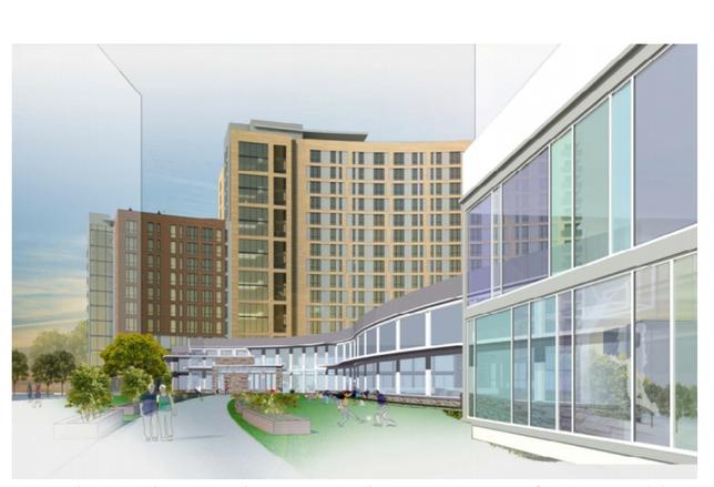 Plans For Elizabeth Square Aquatic Center Presented To County