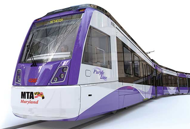 Purple Line rendering