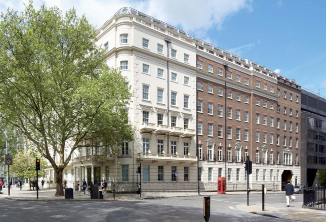 The Office Group's new location at 84 Eccleston Square