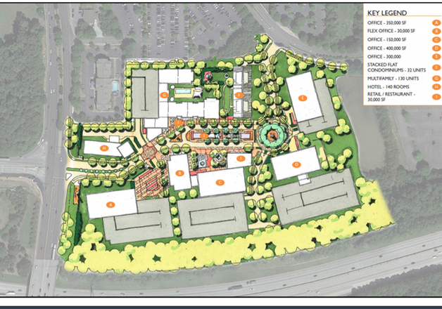 Pope & Land Aiming For An Office-Centric, Avalon-Like Project In Alpharetta