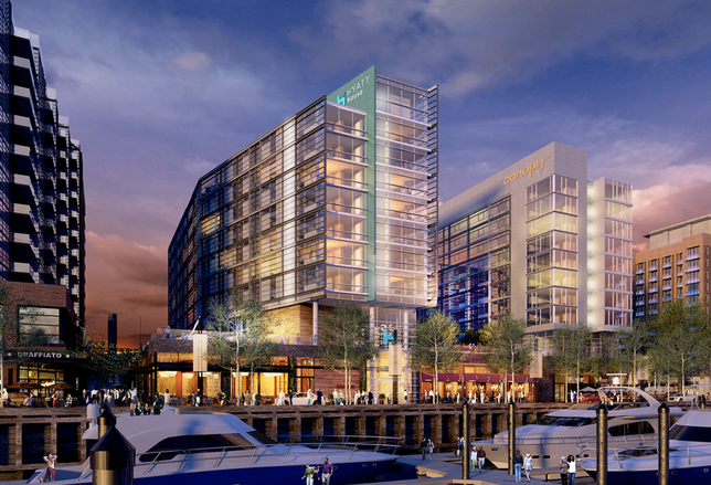 Massive Mixed-Use Wharf And Waterfront Station Transform Southwest