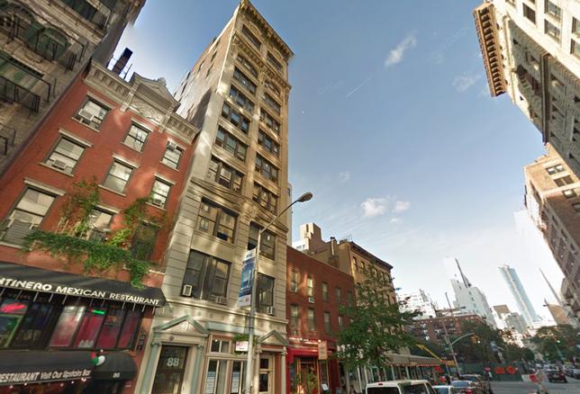 88 University Place in Greenwich Village