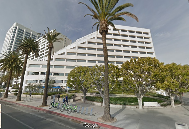 1299 Ocean Ave. Santa Monica, one of the two properties purchased by Douglas Emmett, QAI