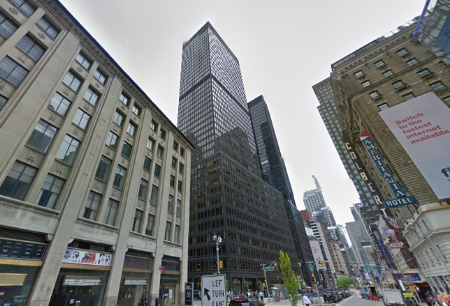 1700 Broadway, owned by the Ruben Cos., in Manhattan