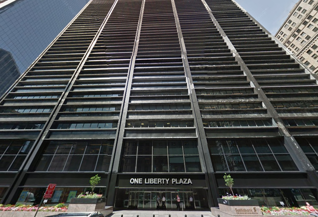 Convene Taking 93K SF At Brookfield's One Liberty Plaza