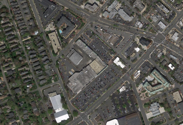 The area proposed for a new development in McLean, Virginia