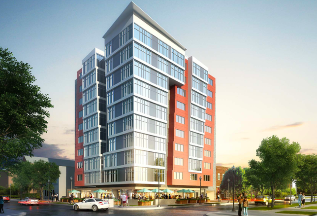 Proposed: An All-Affordable Apartment Building Near The New Soccer Stadium