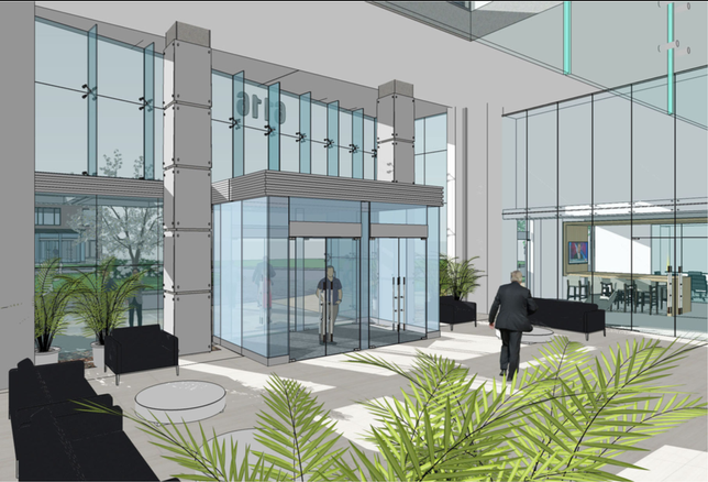 6116 Executive Blvd. Rockville Goodstone rendering