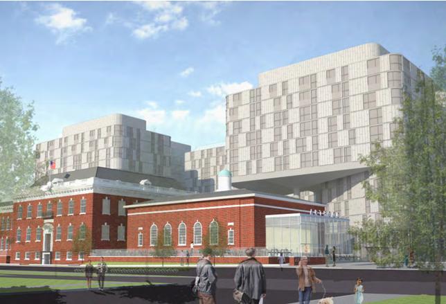 Randall School rendering 65 I St. SW
