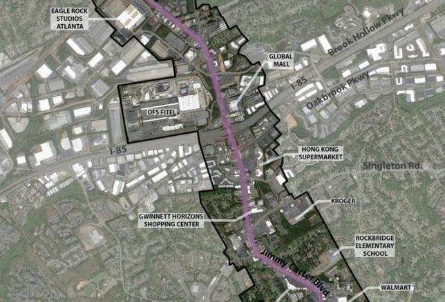 Gwinnett Village Community Improvement District Launches Walkability And Urban Living Studies