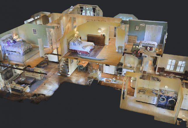 Matterport 3D image
