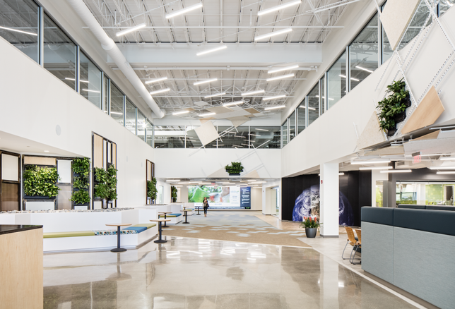 Inside The Center At Innovation Drive: Before And After Its $35M Transformation