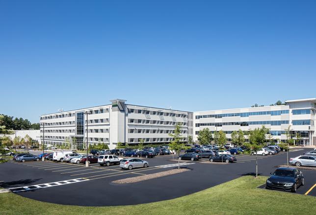 Raytheon Leasing 134K SF At Ex-Wang Laboratories HQ In Tewksbury