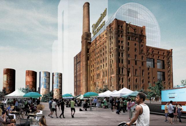 Domino Sugar Factory Redevelopment Reveals Design Update