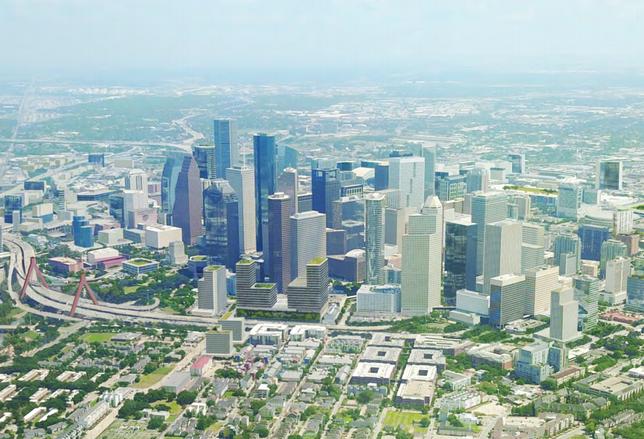 Plan Downtown 2036 Rendering