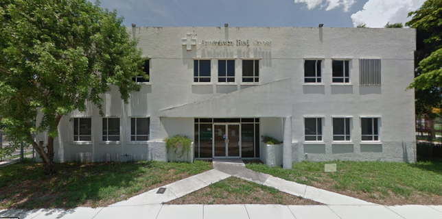Former Red Cross building in Fort Lauderdale´s Flagler Village neighborhood. 521 NE 4th Avenue.