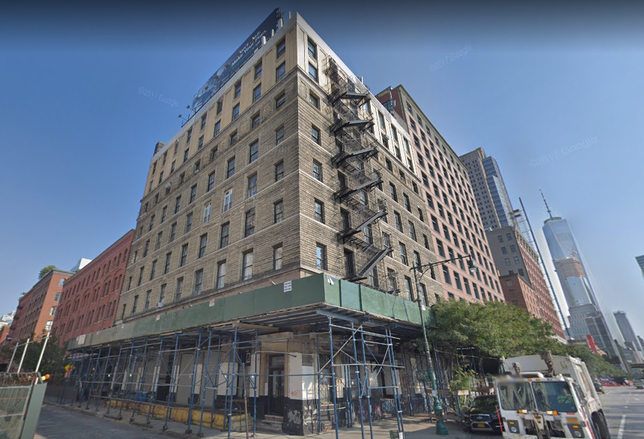 RFR Sells Tribeca Development Site For $56M